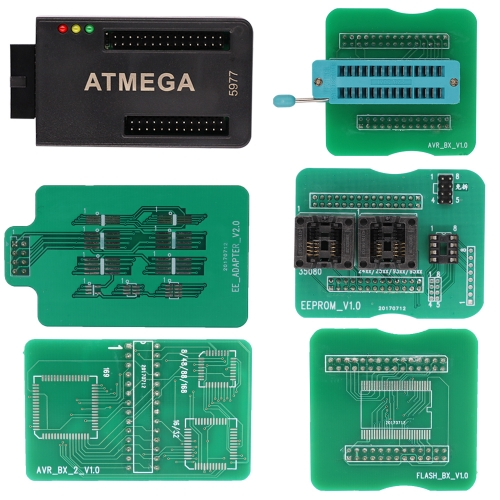 The latest ATMEGA adapter supports Octagon chip