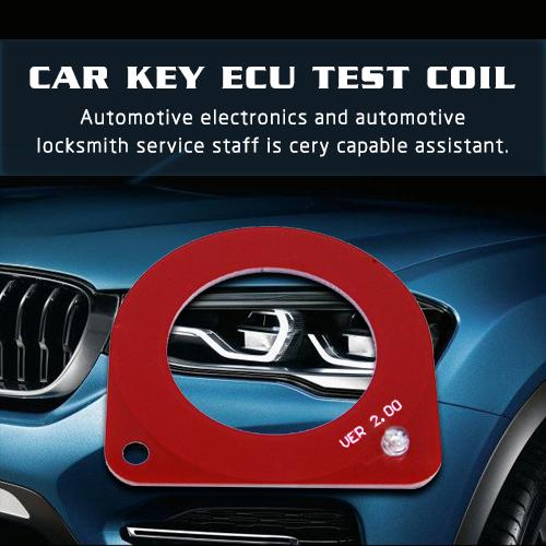 Car Key ECU Test Coil Automotive ECU Induction Signal Detection Card Auto Diagnostic Tool
