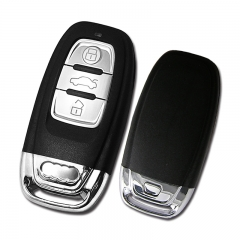 868Mhz electroplating car wireless remot key for Audi A4 A5 Q5